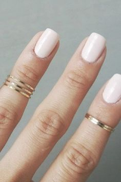 Cute and simple. You will get a set of 2 rings. Also comes in silver.