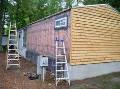 Mobile Home Remodel, Complete Remodel, Home Exterior Design