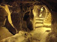 derinkuyu underground caves - Turkey.