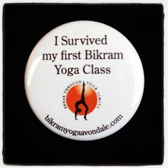 Bikram yoga done! I can't decide if I love it or hate it... So I'm going back on Friday.