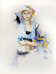 """Bridgette 2"" by Sara Moon by sara-moon-art.deviantart.com on @deviantART"