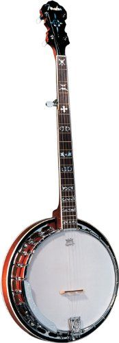 Fender FB-55 Banjo, Natural « StoreBreak.com – Away from the busy stores