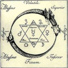 Hexagram & Ouroboros Tattoo   Cc Picture by m0n3d4 (c) from Flickr      Hexagram Ouroboros Alchemy    Cc Picture byvaxzine(c) from Flic...