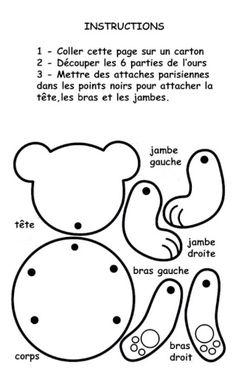 Blogpatou.sosblog.fr : Activité pantin articulé