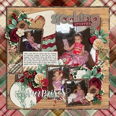 Using Christmas Single 23: Stocking Stuffer template by Cindy Schneider  and Merry You by WendyP Designs