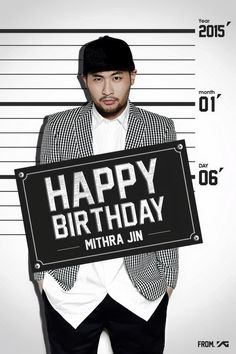 Happy Birthday Mithra Jin.  Though it's little late.