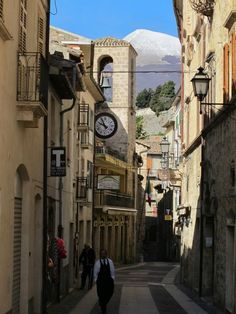 """Civitella del Tronto: """"If you only visit one place in the province of Teramo, it should undoubtedly be the stunning town of Civitella del Tronto. Abruzzo"""
