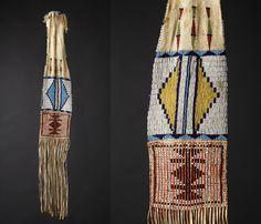 Morning Star Gallery - Cheyenne Pipe Bag, 1860.