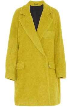 Diane von Furstenberg|Laurel wool-blend bouclé coat
