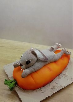 Bunny - cake by babkaKatka Birthday Cake, Birthday Parties, Cupcake Cakes, Cupcakes, Carrot Cake, Cake Decorating, Dinosaur Stuffed Animal, Bunny, Daily Inspiration