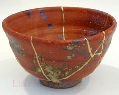 kintsugi - mending broken pottery with golden jointery; How can we use this practice when living with chronic illness?