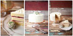 Vanilla and Raspberry Jam Layer Cake