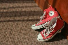 My wedding shoes.. #converse