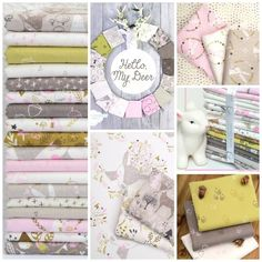 Hello My Dear Fabric Collection