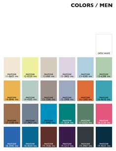 Lenzing Color Trends Spring/Summer 2015 - Color Usage Menswear | Posted By Senay GOKCEN, Editor-in-Chief | Fashion Trendsetter