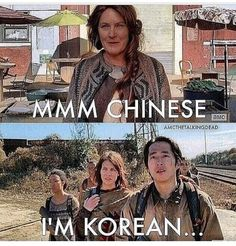 Glen is Korean! Walking Dead