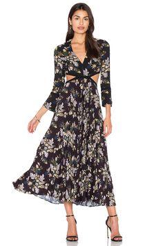 A.L.C. Josefa Dress in Black Multi | REVOLVE