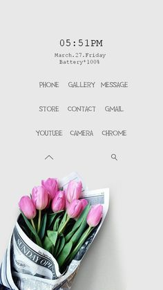[Homepack Buzz] Check out this awesome homescreen! leeum flower