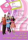 Image detail for -FRESH BEAT BAND Birthday Party Invitation - 5 Designs - New and Old ...