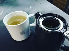 Break time! Nothing better than #greentea in a #iPhone cup #supadupa !! Thanks @rhysadams for the mug and @carolspencer34 for the teapot | From Field Photographic Portrait Studio | http://ift.tt/20TBije