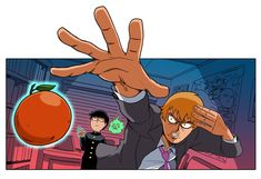 MOB PSYCHO 100 by captainosaka on DeviantArt ONE's webcomic begun the distribution about August One Punch Man, Anime Manga, Anime Art, Anime Boys, Mob Psycho 100 Anime, Mob Physco 100, Chibi, Otaku, Fanart