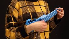 """Providence, RI based Mary Burke  plays her original """"After Sunset"""" on a Nuke 3D Printed Ukulele. To find out more about Nuke and how to print one for yourself, visit http://www.nuke.rocks   Come and watch Mary play live this coming Tuesday, May 19 at the Rhode Island Convention Center in Providence, at 6:30PM. Get your fix of awesome 3D printed ukulele music, art and design at the RISD Graduate student show.  Exhibition Hall A 1 Sabin Street Providence, RI"""