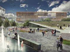 'New Acadia, Retrofitting Urban Decay' Winning Proposal / Garrett Rock