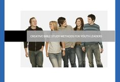 Free youth Bible study lessons, ebooks, etc. for youth leaders!  www.CreativeBibleStudy.com