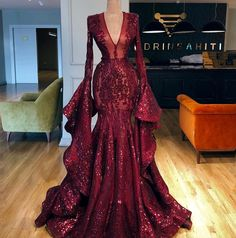 Sparkly Couture Dubai Pageant Evening Dresses With Big Sleeves Aibye Muslim Prom Party Gowns Abendkleider Robe de soiree Longue(China) Elegant Dresses, Pretty Dresses, Sexy Dresses, Summer Dresses, Corset Dresses, Awesome Dresses, Casual Dresses, Dresses With Capes, Unique Formal Dresses
