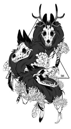 28 New Ideas Animal Art Drawing Hair Reference Arte Furry, Furry Art, Art Sketches, Art Drawings, Dessin Old School, Creepy Monster, The Ancient Magus Bride, Art Anime, Arte Horror