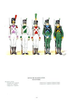 Regno di Olanda Fanteria Dutch, Army, Military Uniforms, History, Empire, Movie Posters, Movies, France, Miniatures