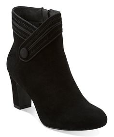 Black Suede Tamryn Season Ankle Boot