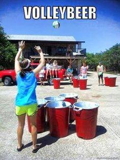 Volleybeer!