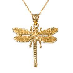 LA BLINGZ 14K Yellow Gold Filigree Alphabet Initial Letter C DC Pendant Necklace