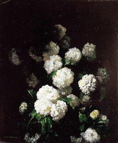 Fleurs, 1860, Jean Benner