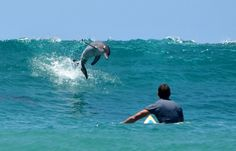 I love dolphins...Surfing in Byron Bay