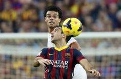 Penalti no pitado por un pisotón de Pepe a Cesc