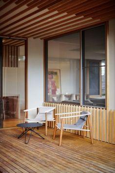 Rénovation d'une maison familiale contemporaine à Brighton en Australie