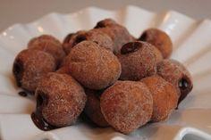 19. These gluten-free mini Hanukkah sufganiyot are basically bites of heaven. | Community Post: 23 Delicious Vegetarian Hanukkah Recipes