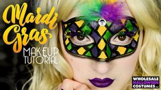Mardi Gras Mask Makeup Tutorial