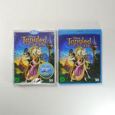Tangled (Rapunjel) 3D Blu-ray [Korea Edition, O-Ring Cover, 1Disc] Disney 2010