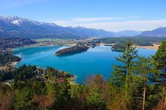Faaker See Kärnten / Lake Faak, Southern Carinthia Carinthia, Archie, Homeland, Austria, Beautiful Places, River, Adventure, Mountains, Country