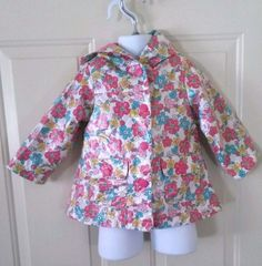 This adorable raincoat or windbreaker will have your little girl ready for spring. 18 M OshKosh B'Gosh