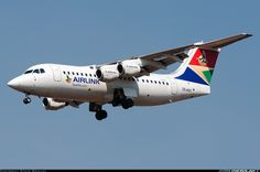 British Aerospace Avro - Airlink - Johannesburg - OR Tambo International (Jan Smuts) (JNB / FAOR) South Africa - September 2014 by Steve Brimley British Aerospace, Commercial Aircraft, South Africa, African, September 16, Planes, Display, Backgrounds