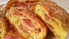 Bakina kuhinja - pita koju bi i carevi poželeli           Potrebno je   10 lista tankih gotovih kora  3 jaja  250-300 gr sira        1 jo...