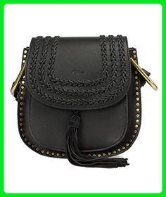 Chloe Women's Hudson Calfskin Shoulder Bag, Black - Shoulder bags (*Amazon Partner-Link)