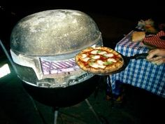 Build A Pizza Oven Out Of A Weber Grill
