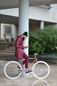 Maroon // Maroon. | Raddest Looks On The Internet: http://www.raddestlooks.net