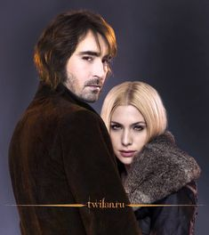 Garrett (*Lee Pace*) and Kate from Twilight Denali coven by msBentley on deviantART