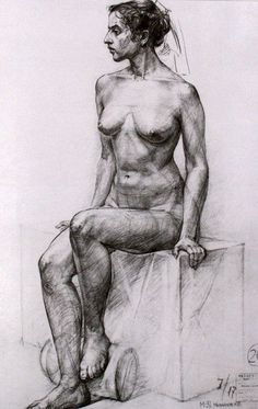 Learn To Draw People - The Female Body - Drawing On Demand Body Drawing, Anatomy Drawing, Life Drawing, Drawing Sketches, Art Drawings, Figure Drawings, Figure Sketching, Figure Drawing Reference, Figure Painting